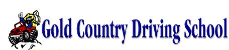 gold country driving school logo image